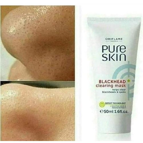 Oriflame Pure Skin Black Head Clearing Mask Packaging Size 50 Ml Rs 250 Bottle Id 21628735997