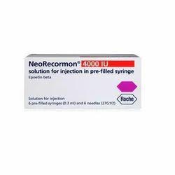 Erythropoietin Injection, Packaging Size: 6 Syringe, for Hospital