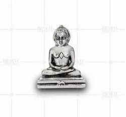 White Metal Mahavir Idols