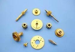 Small Pinion Brass Gears
