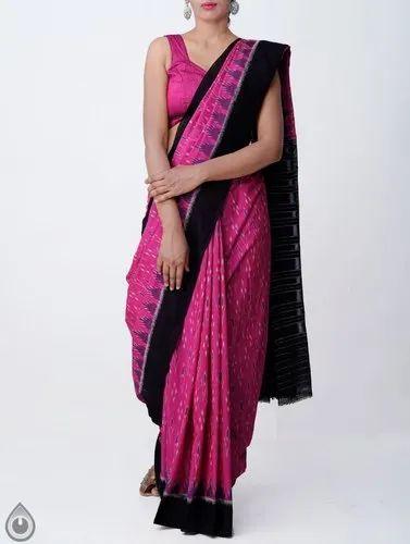 b0e41cbd81167f Unnati Silks Pure Handloom Ikat Sambalpuri Cotton Saree, Rs 3599 ...