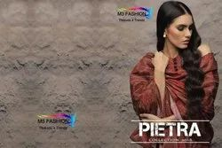 M3 Fashion Pietra Series 1001-1008 Stylish Party Wear Cotton Suit