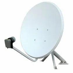 Wall Mounted Mild Steel Dish Antenna, 90 Db, 5 Khz
