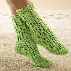 Crochet Kids Socks