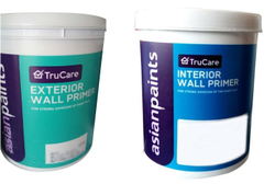 Matt white Asian Paints Exterior Wall Primer, for Roller, Packaging Type: Bucket
