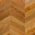 Burma Teak Chevron Wooden Flooring