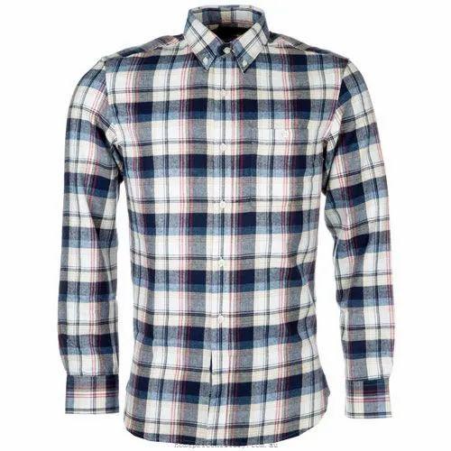 Cotton Slim Fit Mens Fancy Shirt
