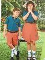 Shyamjee Summer Cotton Kids School Uniform, Size: S, M