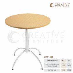 Brown Steel Table