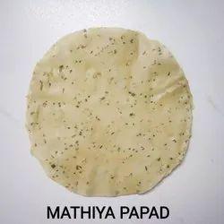 Mathiya Papad