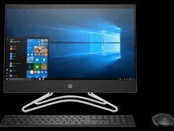 Jet Black HP All-in-One - 22-c0015in Desktop Computer