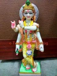 Marble Virat Roop Krishna Statue