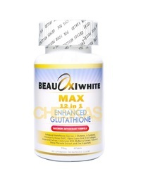 Beauoxi White Max 12 in 1 Glutathione Tablets