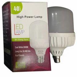 Cool White Plastic Surya LED Bulb, Base Type: B22
