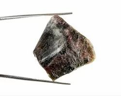 27 Cts Tourmaline Raw Crystal Gemstone Slice