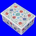White Marble Jewelry Box