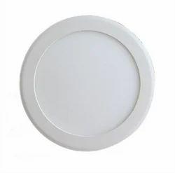Neelkanth Impex Warm White LED Round Panel Light, Shape: Round