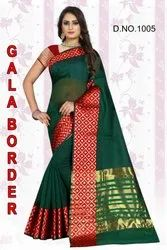 Gala Border Silk saree
