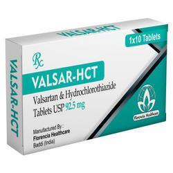 Valsartan & Hydrochlorthiazide Tablets 92.5mg