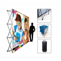 POP UP Straight Advertising Display Services