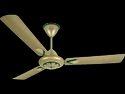 Luminous Three Blade Metal Ecstasy Ceiling Fan, Color: Jade Gold