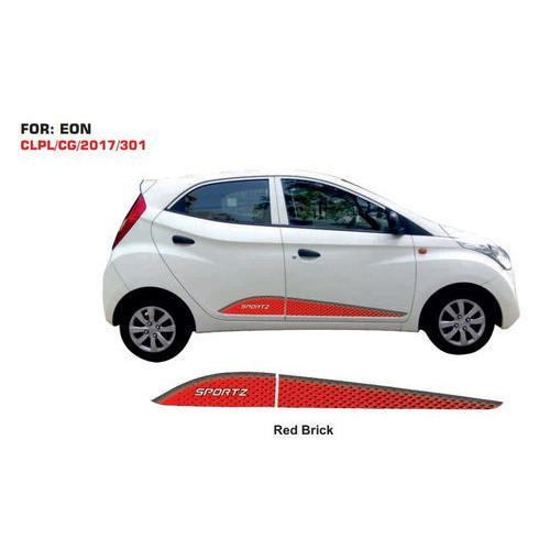 Hyundai Eon Red Brick Car Graphic