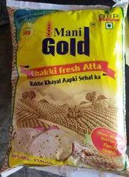 Mani Gold Atta, Packaging Type: Packet, Roti