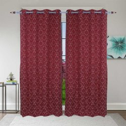 Parda Online Printed Cotton Door Curtain, Size: 7x4 Feet