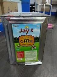 Grass-Fed Cow Ghee / 100% Pure & Fresh Indian Cow Ghee / Village Cow Ghee