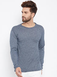 Men's Full Sleeves Round Neck 100% Cotton T-shirt