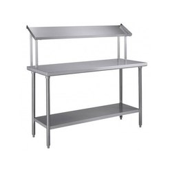 Stainless Steel RBJ SS 304 Top Shelf Work Table