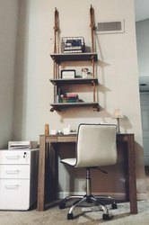 Wall Hanging Shelves , floating wall shelves, rope wall shelves