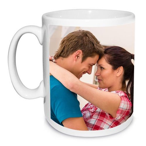 Parth Graphics Multicolor Photo Printed Sublimation Mug, Size: 11 cm