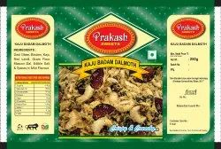 3 Layer Kaju Badam Dalmoth Mixture Namkeen Pouch