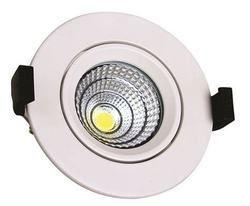 Ceiling Mounted Round LED COB Light, 15 W, Voltage: 220 V