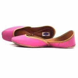 Plain Pink Jutti