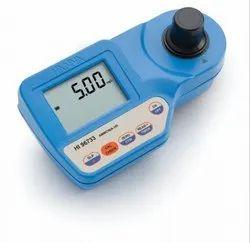 Bromine, Chlorine, Cyanuric Acid, Iodide, Iron, and pH Portable Photometer