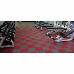 Rubber Interlocking Gym Flooring