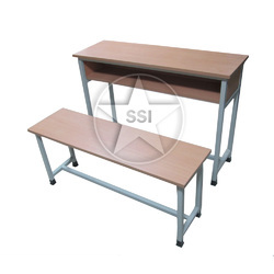 Sharon Bench & Desk Three Seater Separated Model