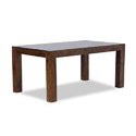 Wooden Dining Table, Size: 76 X 100 X 160 Cm