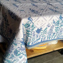 Neelofars Rectangular Home Table Cover, Size: 60 X 90 Inch