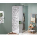 L Shape Saint Gobain Reflect Series One Way Shower Cubicle