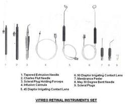 Vitreoretinal Ophthalmic Surgical Instruments Set
