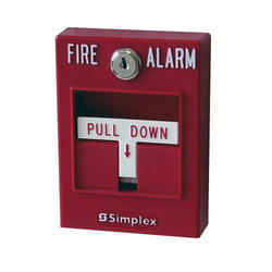Simplex Red Fire Alarm