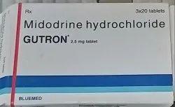 Gutron 2.5mg Tablet, Midodrine (2.5mg)