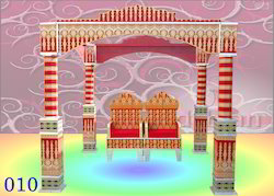Wooden Wedding Chori Mandap