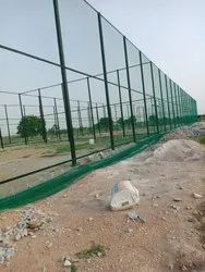 green, white garware Football Ground Net, Size: 2.5mm Thickness, 30mm Gap, Layer: Double Layer