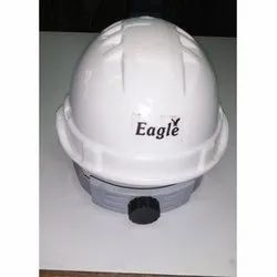 Eagle White Helmet