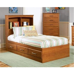 Brown Single Bed