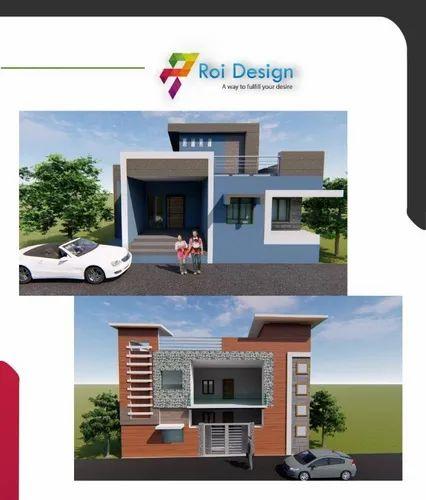 Elevation Designing, Location: Katpadi Vellore | ID: 20741222312